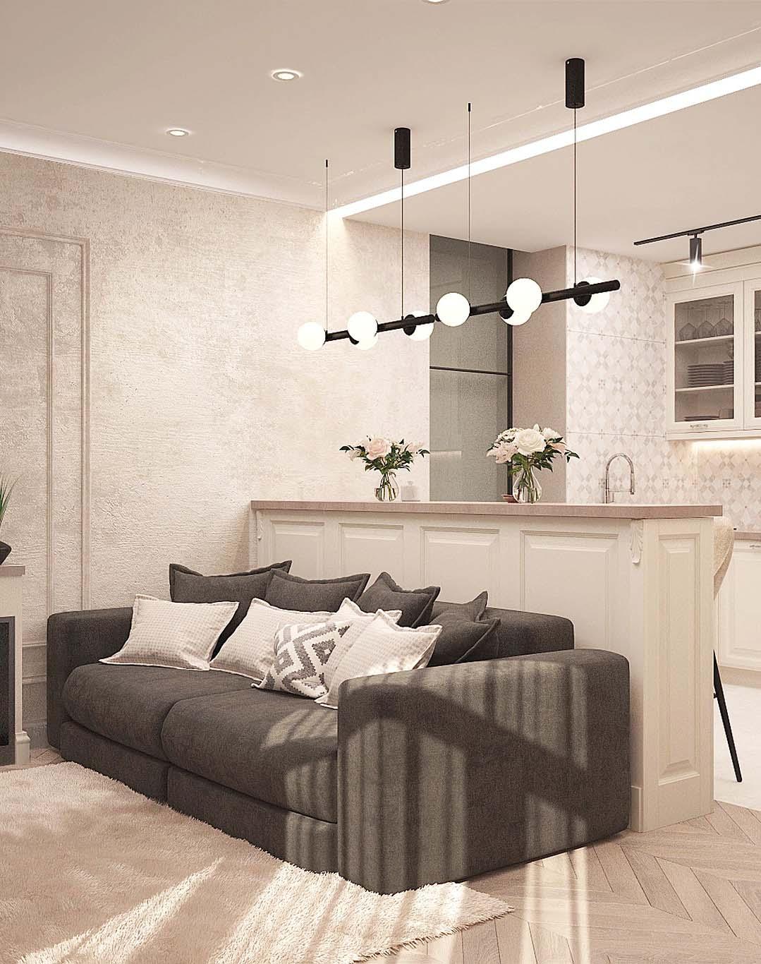 Ремонт двухкомнатной квартиры 80 м²