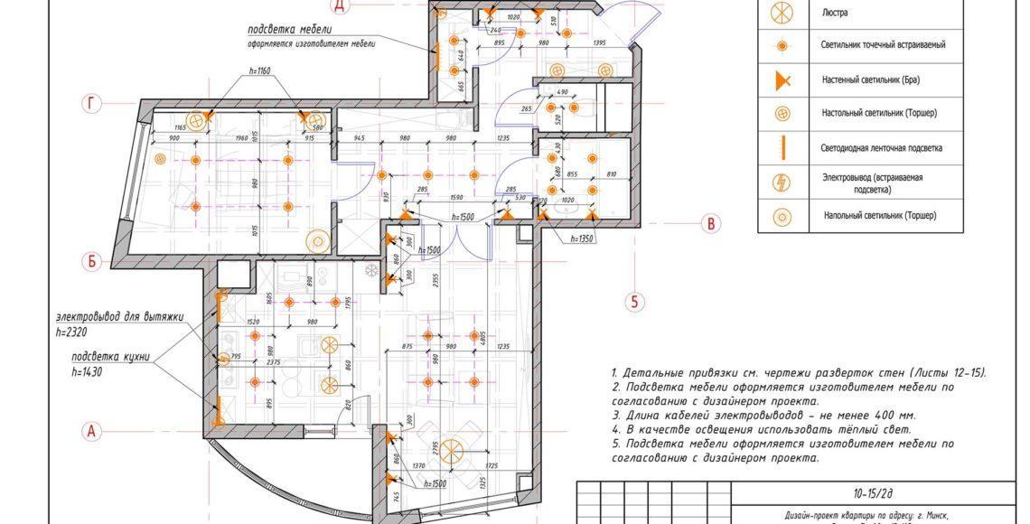 Двухкомнатная квартира 80 м²