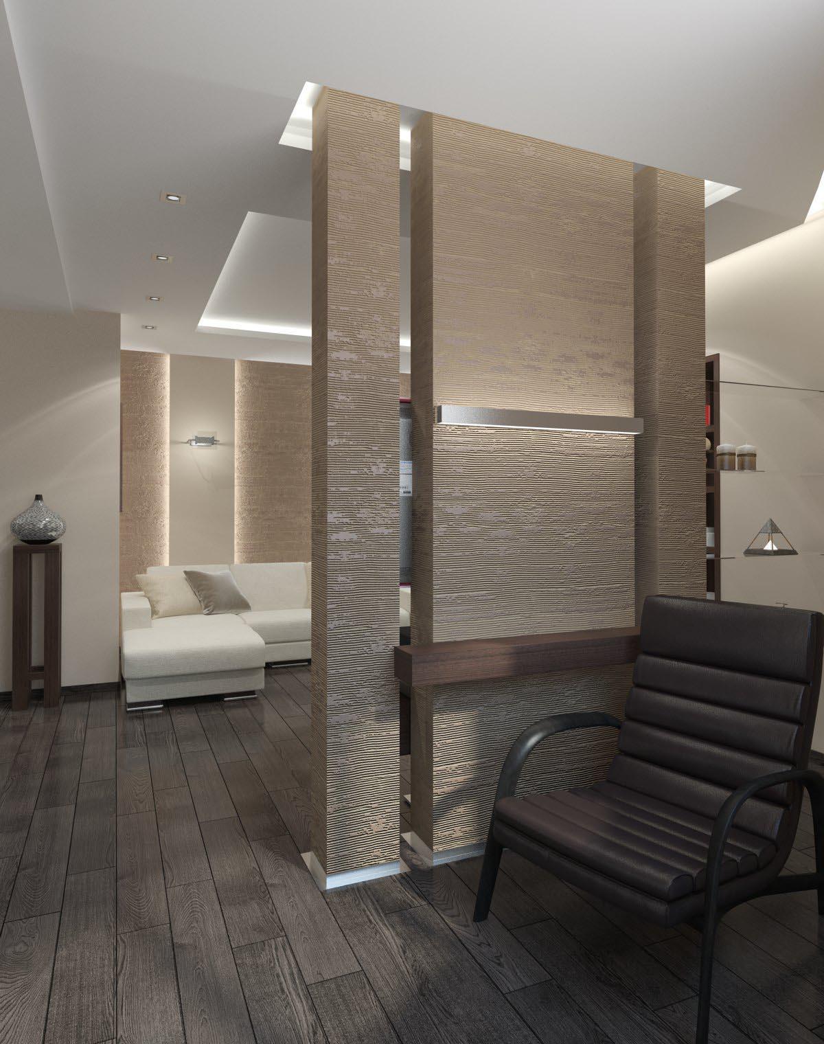 Однокомнатная квартира 47 м²