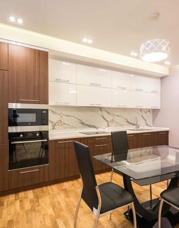 Двухкомнатная квартира 75 м²