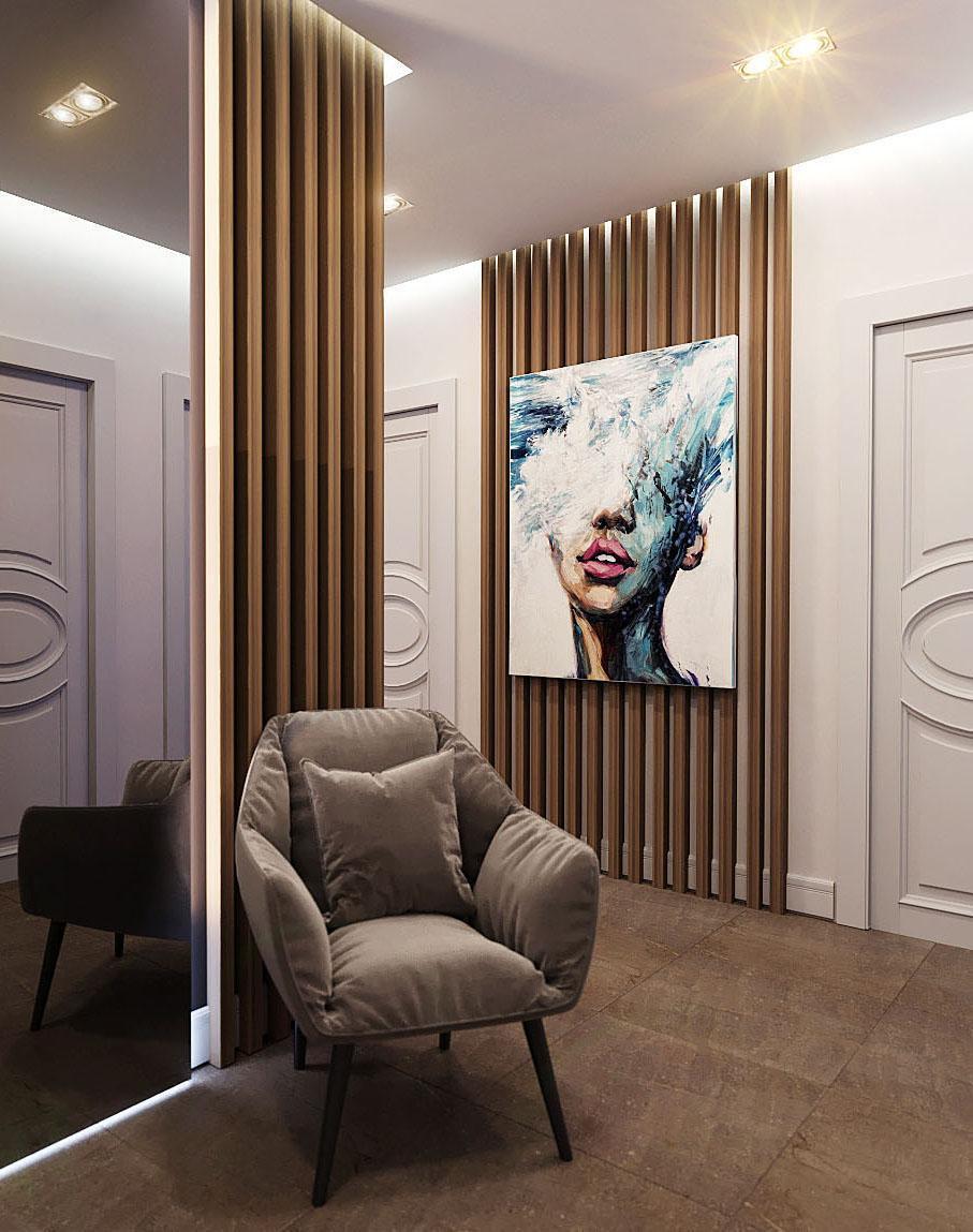 Ремонт трехкомнатной квартиры 110 м²