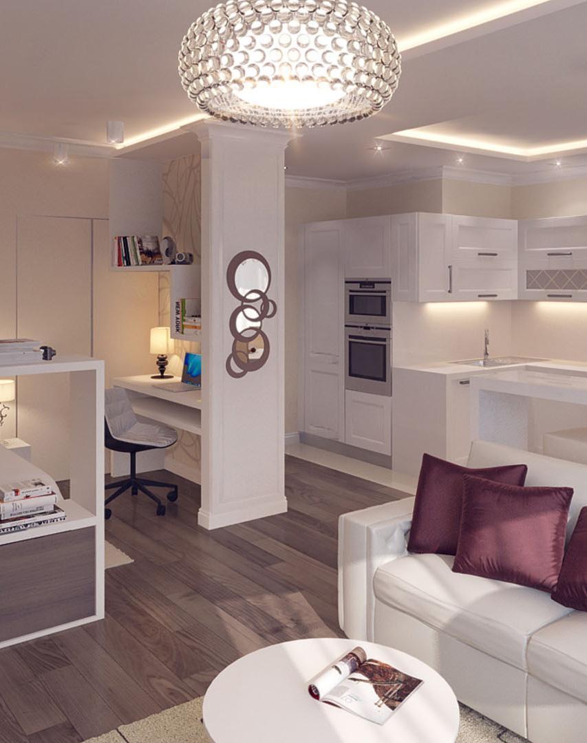 Ремонт квартиры-студии 48 м²