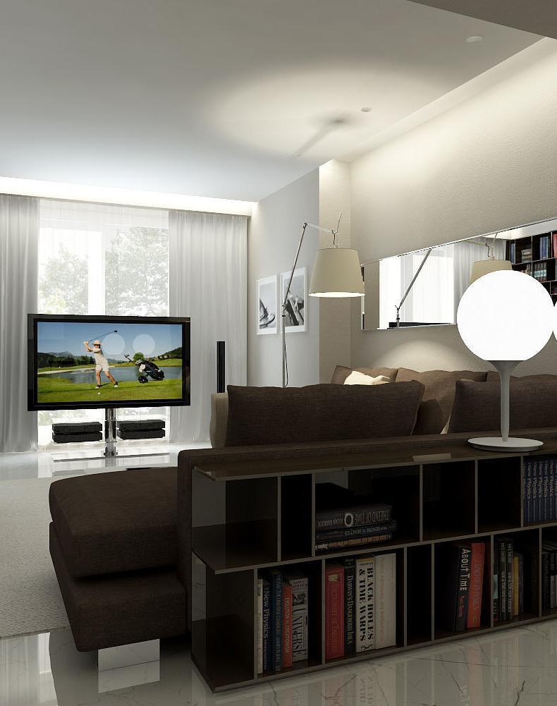 Трехкомнатная квартира 105 м²