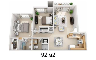 remont-trehkomnatnoi-kvartiry-v-novostrojke-cena